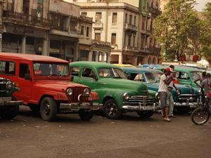 Gorąca noc w Hawanie.
