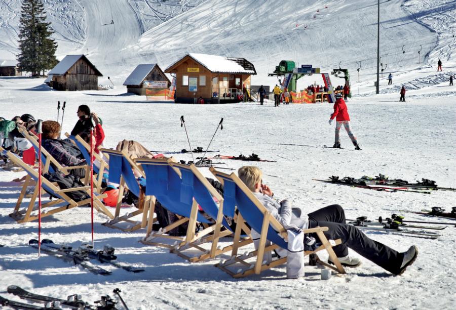 narty w Austrii, alpy