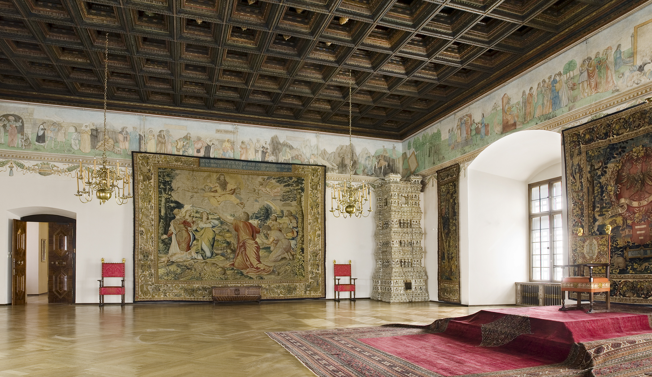 Zamki w Polsce: Zamek Królewski na Wawelu, Sala Poselska